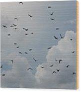 In Flight Wood Print