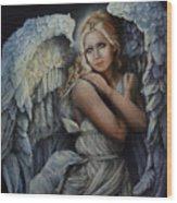 In God's Bright Shadow Wood Print