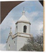 In God's Window Wood Print