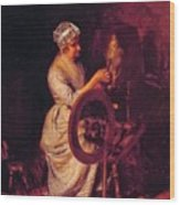 In Grandmothers Time 1876 Wood Print