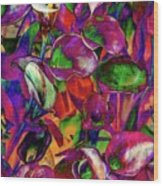 In Living Color Wood Print