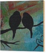 In Love Iv Wr Wood Print