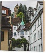 In Lucerne  Wood Print