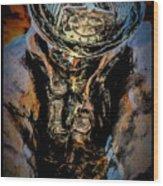 In Memoriam - Oil Wood Print
