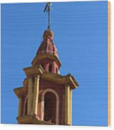 In Mexico Bell Tower Wood Print