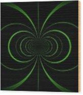 Spiraling Through Time Wood Print