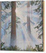 In Paradisum II Wood Print