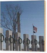 In Rememberance Wood Print