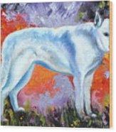 In Shepherd Heaven Wood Print