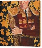 In Tapestry Wood Print