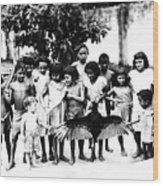 In The Amazon 1953 Wood Print