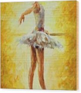In The Ballet Class Wood Print