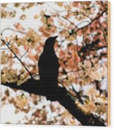 In The Cherry Tree Wood Print