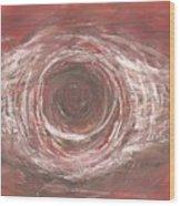 In The Eye Wood Print