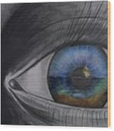 In The Eye Of The Beholder Wood Print