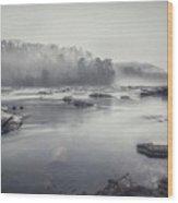 In The Fog  Wood Print