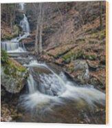 In The Glen Wood Print