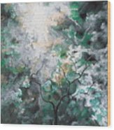 In The Glory Wood Print