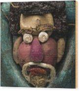 In The Manner Of Arcimboldo Wood Print