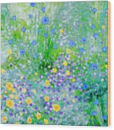 In The Meadow Wood Print