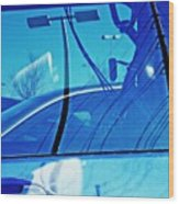 In The Parking Lot 2 Wood Print