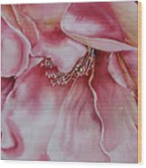 In-the-pink Wood Print