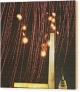 In The Rockets Red Glare Wood Print
