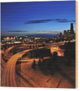 In To Emerald City C083 Wood Print