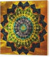 In Tune Mandala Wood Print