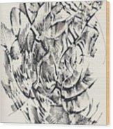 In Vain Wood Print
