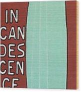 Incandescence Par Le Gaz  1892 Wood Print
