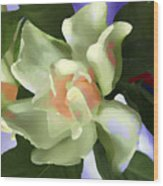 Incendle Melange Wood Print