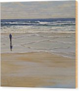 Incoming Tide Wood Print