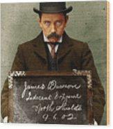 Indecent Exposure Wood Print