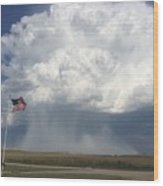 Independence Day In Sioux County Nebraska Wood Print