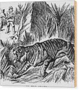 India: Famine, 1896 Wood Print