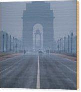 India Gate Wood Print