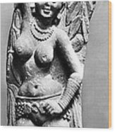 India: Jain Sculpture Wood Print