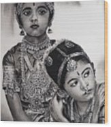 Indian Adornment Wood Print