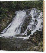 Indian Creek Falls 1 Wood Print
