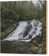 Indian Creek Falls 2 Wood Print