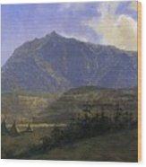 Indian Encampment Albert Bierstadt Wood Print