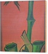 Indian Lamp  Wood Print