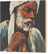 Indian Man Wood Print