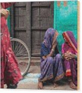 Indian Mood Wood Print