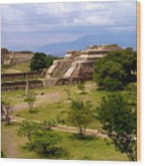 Indian Ruins Wood Print