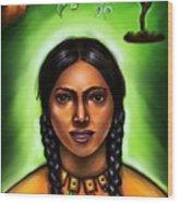 Indian Spirit Wood Print
