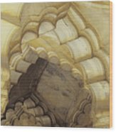 Indian Temple Arches Wood Print
