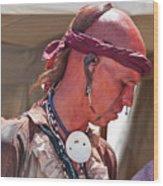 Indian Viii  6740 Wood Print