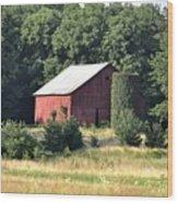 Indiana Barn Wood Print
